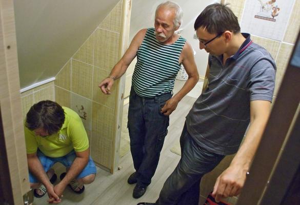 В гостях у Владимира и Аллы
