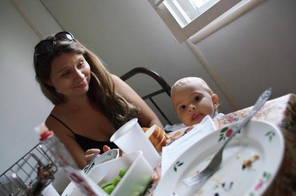Ольга с дочкой Полиной