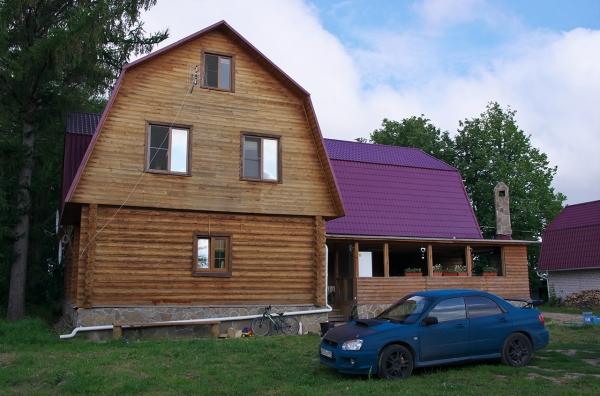 Дома у Александра ecodrev