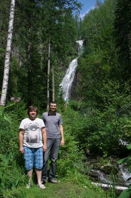 Водопад в Абакане