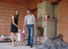 Семья Максима в доме